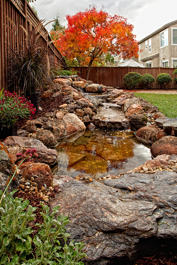 Santa Clara Waterfall And Stream Builder Contractor Pond