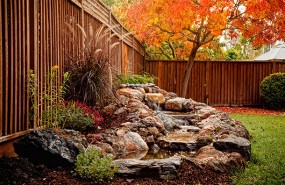 Santa Clara Waterfall and Stream Builder Contractor