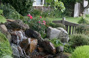Pondless Waterfall and Stream - Santa Cruz