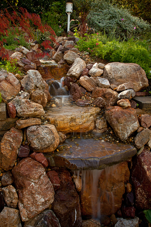 Waterfall Installation Pond Magic